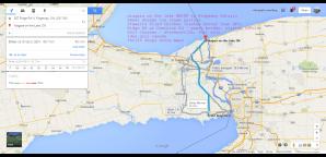 #NIFF Niagara on the Lake Shaw Festival QEW  stewarts fried chicken 367 ridge rd n ridgeway Google Maps idea girl canada linda randall