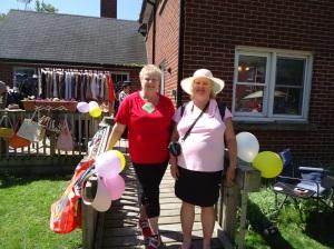 donna summervile and linda randall clothing purses house item sale HIAFE BBQ phipps st niagara blvd 7 jun 2014