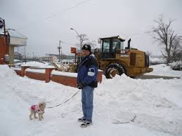 harry daisy CAT tractor clears snow off sidewalks on niagara pkwy southside bar fort erie ontario canada dec 27 2012 photo linda randall  snow ploughs clearing snow in fort erie storm pic from 2012 harry and daisy walking